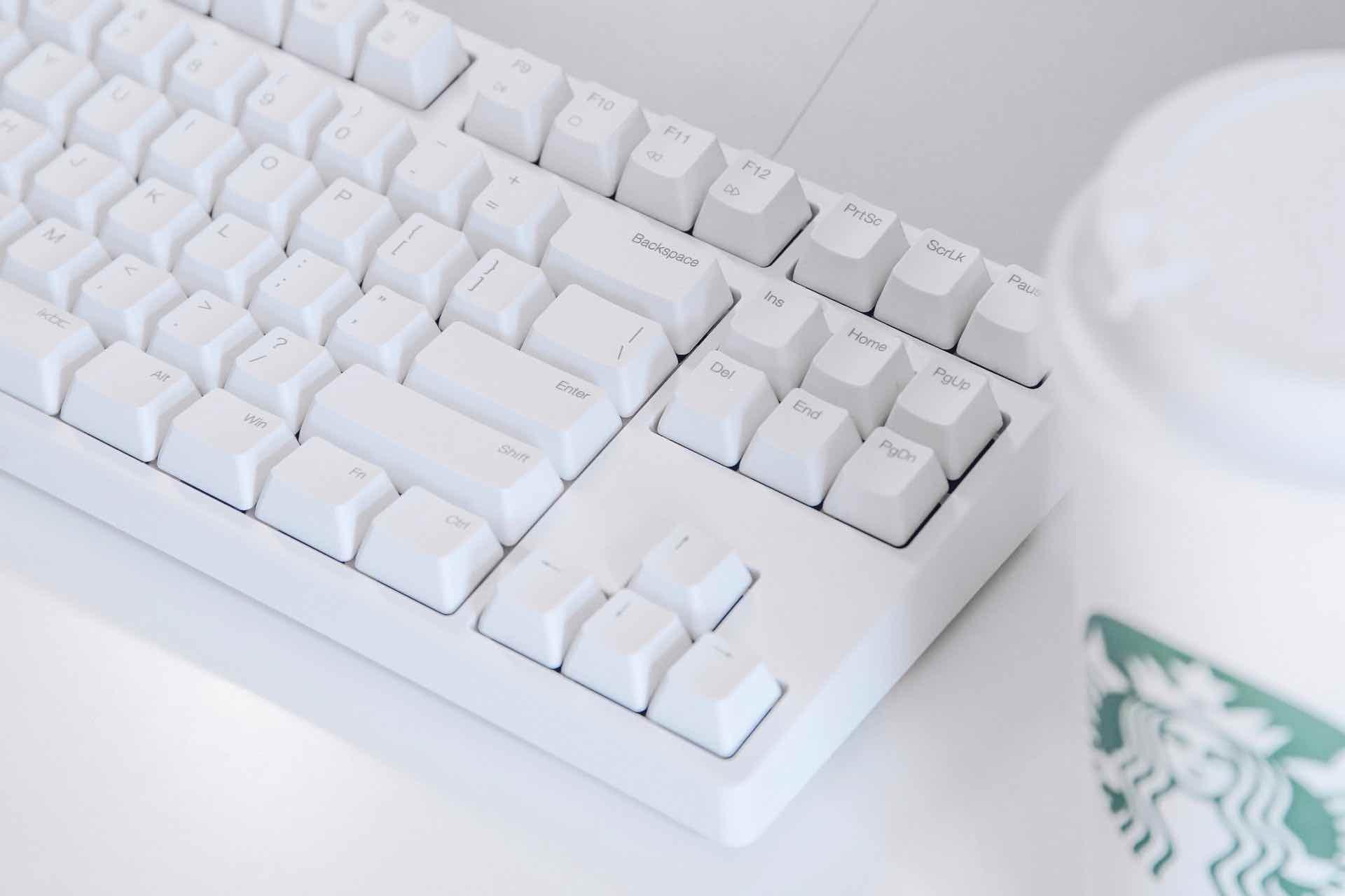 US配列のキーボード