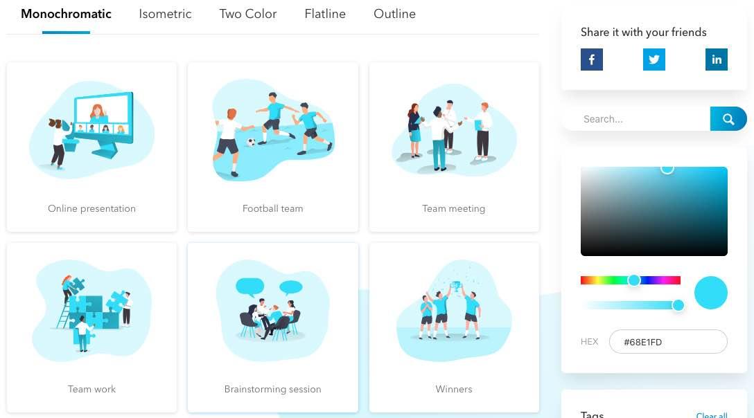 ManyPixelsのトップページ