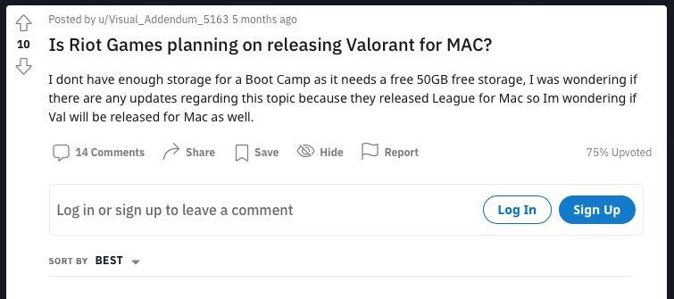Valorant開発者への質問